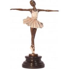 Bronzová baletka