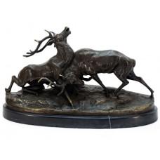 Bronzové jelene
