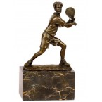 Bronzový tenista