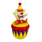 Drevený klaun