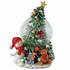 Vianočná hracia guľa
