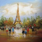 Olejomaľba na plátne
