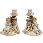 Porcelánové svietniky