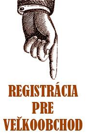 Registrácia veľkoobchod