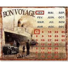 Plechový kalendár